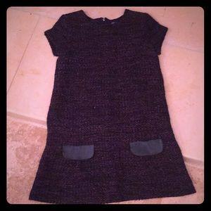Lili Gaufrette Girls tweed dress